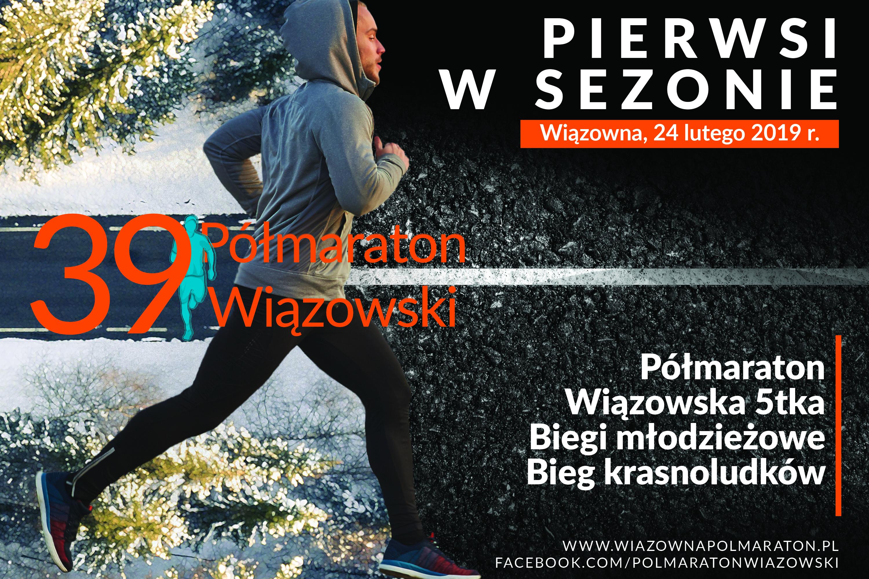 39 Półmaraton Wiązowski