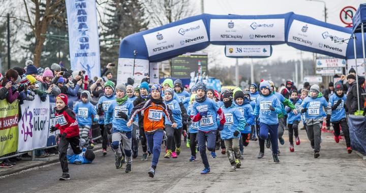 Start Biegu Młodzieżowego_foto_M.Sosonowska