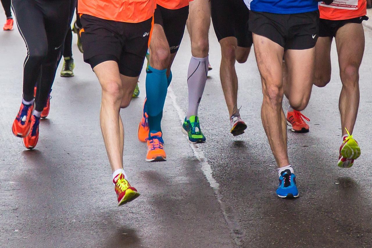 maraton biegacze