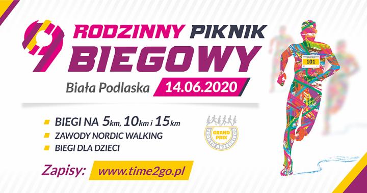 Zaproszenie na 9 Rodzinny Piknik Biegowy w Białek Podlaskiej