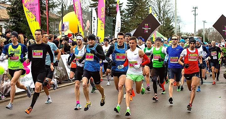 Start 40. Połmaratonu Wiązowskiego