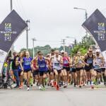 Start 41. Półmaratonu Wiązowskiego