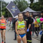 Zwyciężczyni Wiązowskiej 5-tki olimpijka Iwona Bernardelli